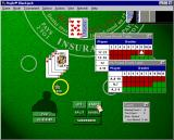 Hoyle Blackjack Windows Card counting and probability charts