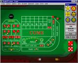 Hoyle Casino Windows A Craps table