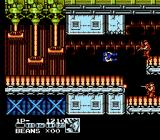 Contra Force NES I'm hit!