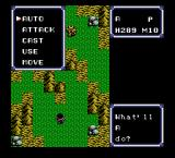 Ultima IV: Quest of the Avatar NES First fight