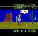 Wild Gunman NES Draw Punk!