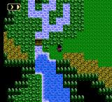 Ultima IV: Quest of the Avatar NES River & bridge