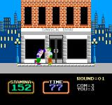Urban Champion NES And proceed to duke it out