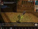 Neverwinter Nights: Hordes of the Underdark Windows Druids can talk to animals such as this rat