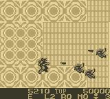 Burai Fighter Deluxe Game Boy Eliminate enemies.