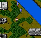 Ikari Warriors NES Go to the river