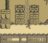 Disney's Hercules Game Boy Stone faces throws fire
