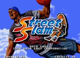Street Slam Neo Geo US title screen