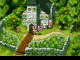 Rhapsody: A Musical Adventure PlayStation Nice graphics around the church