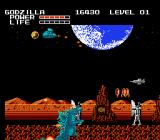 Godzilla: Monster of Monsters NES Death - get out of planet!