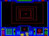 Deathscape ZX Spectrum Red circle - another enemy