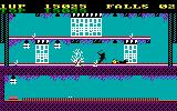 Bruce Lee PC Booter Let the traps take care of the bad guys (PCjr)
