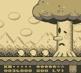 Kirby's Dream Land 2 Game Boy Defeated boss