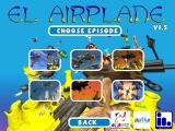 El Airplane Windows The episode selection screen