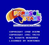 Parasol Stars: The Story of Bubble Bobble III NES Title