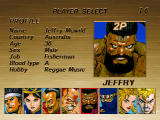 Virtua Fighter Remix Windows Jeffry stats