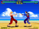 Virtua Fighter Remix Windows Hit in the face