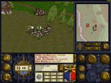 Warhammer: Shadow of the Horned Rat Windows 3.x Fight. Calvary waits as help
