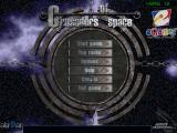 Crusaders of Space Windows The main menu. The version used for these screen shots came from an eGames compilation