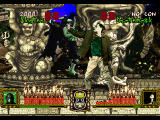 Battle Monsters SEGA Saturn Gargoyle versus Frankenstein monster