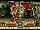 Battle Monsters SEGA Saturn Twins can kick in the face