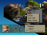 Final Fantasy Tactics PlayStation Fight in water