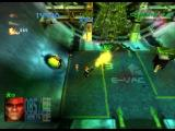 Millennium Soldier: Expendable PlayStation Destroy green thing on the tube walls