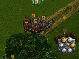 Warhammer: Dark Omen Windows Chaotic battle