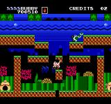 Parasol Stars: The Story of Bubble Bobble III NES Father and baby turtle
