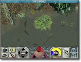 Main Trophy Bass fishing screen (top-down view)