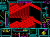 Battle Droidz ZX Spectrum Narrow passage