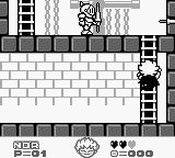 Kid Dracula Game Boy On the ladder