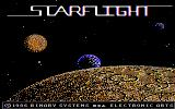 Starflight DOS Early non-EGA Version Title Screen (Tandy Graphics)