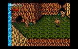 Battletoads Amiga Using its fireball to flame enemies