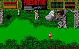 Predator Amiga One of the enemies stranded in a broken helicopter