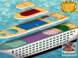 Leisure Suit Larry: Love for Sail! DOS The map of the ship allows easy instant travel