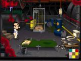 Leisure Suit Larry: Love for Sail! DOS Larry's room - not quite what he expected...