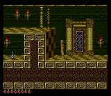 Prince of Persia SNES The halls of the palace are exquisitely decorated.