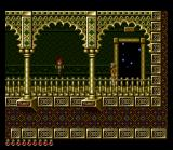 Prince of Persia SNES ...that will take you to an otherwise unreachable part of the level.