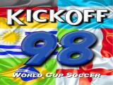Kick Off 98 DOS Title screen