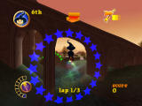 Billy the Wizard: Rocket Broomstick Racing Windows Under the bridge