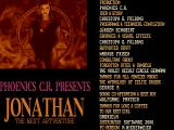 Jonathan DOS Title screen.