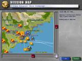 Jane's Combat Simulations: U.S. Navy Fighters '97 Windows Tactical map