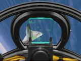Jane's Combat Simulations: U.S. Navy Fighters '97 Windows Targeting the enemy - cockpit