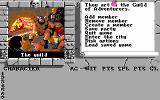 The Bard's Tale II: The Destiny Knight DOS In the Adventurers Guild