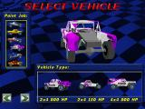 SODA Off-Road Racing Windows Select vehicle