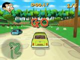 Mr Bean's Wacky World Windows Mini game: Racing