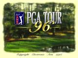 PGA Tour 96 DOS Title screen