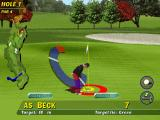 PGA Tour 96 DOS Aiming the hole