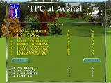 PGA Tour 96 DOS Tournament scores